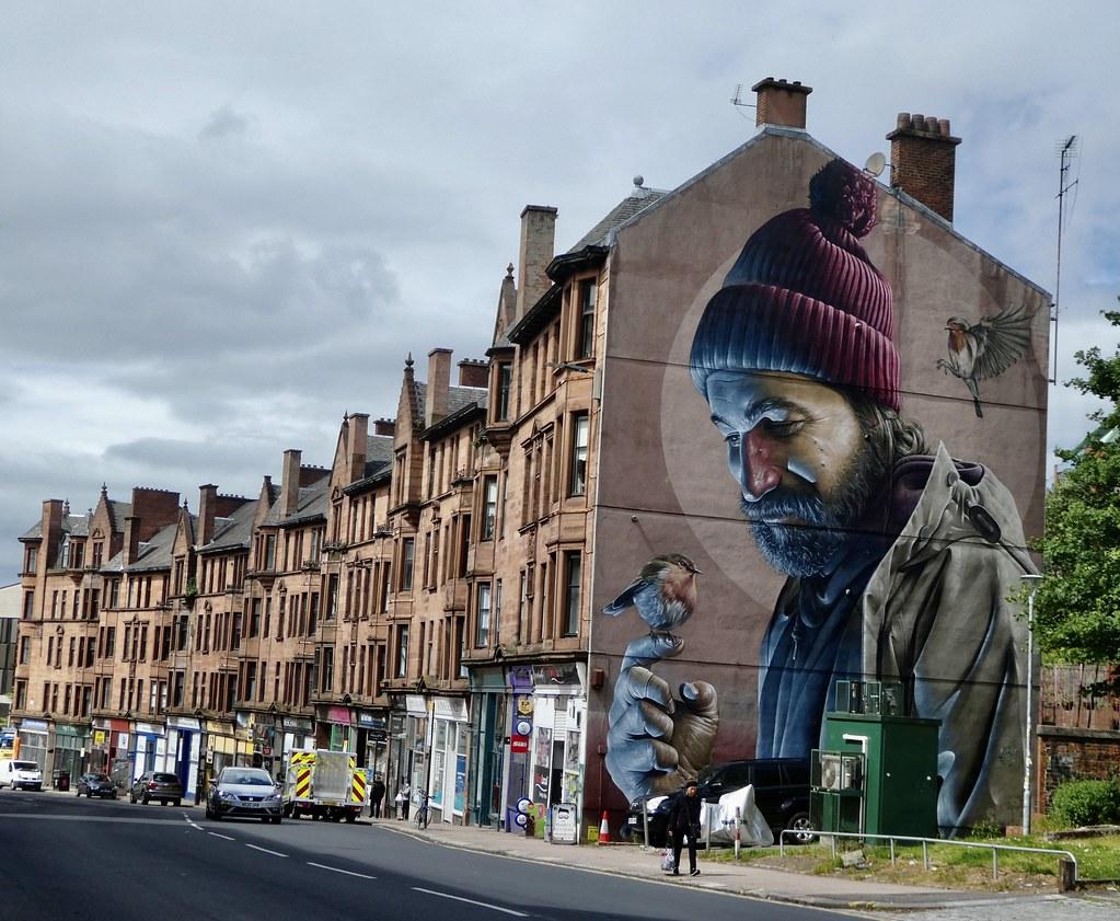 St. Mungo Mural, Glasgow