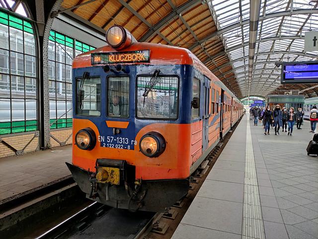 EN57-1313   Wrocław Główny - Kluczbork