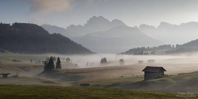 Mist on the Alp