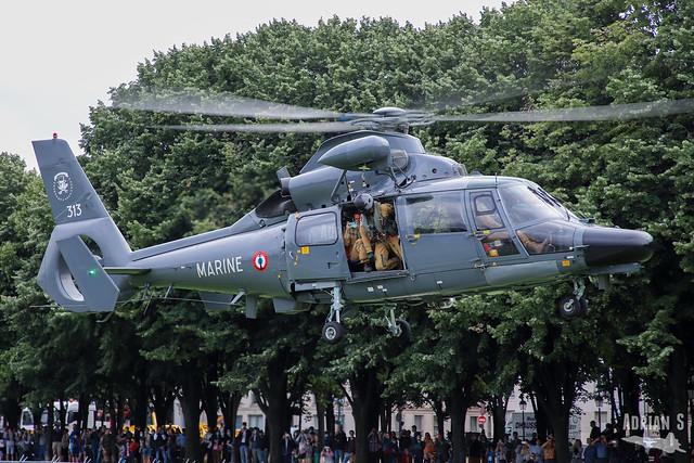 313 SA.365F1 Dauphin | Paris | 14.07.2021