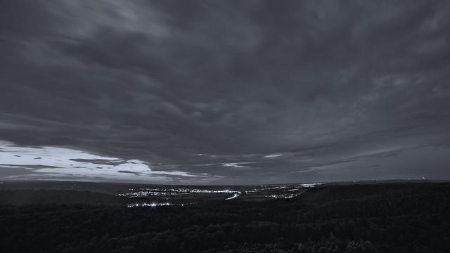 Sommerabend am Schönbuchturm