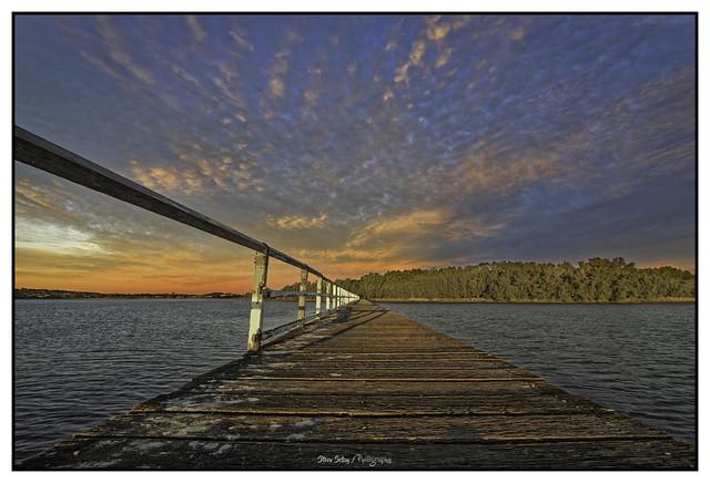 Primbee Pier Reverse Sunset