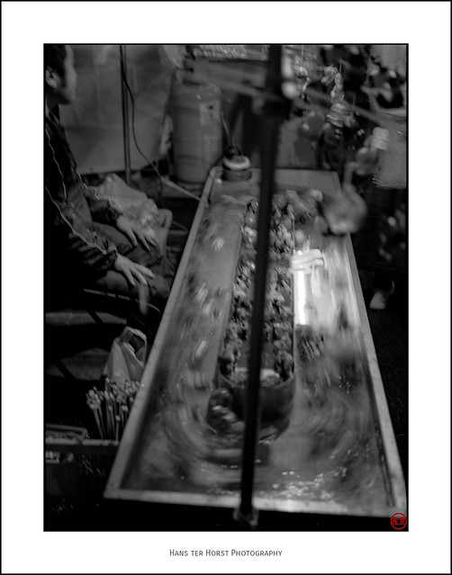 Merchants of the Kawagoe Matsuri - angling for fish