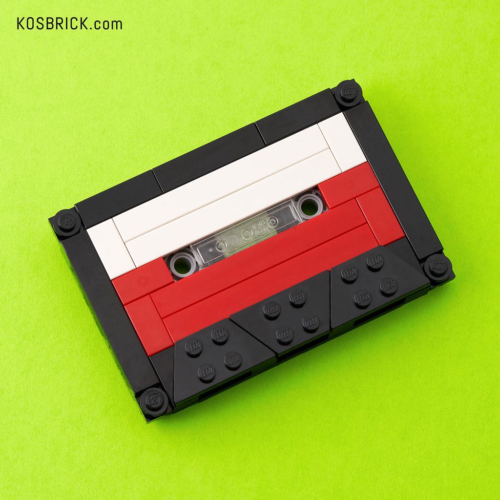 LEGO Audio Cassette / Cassette Tape (Tutorial)
