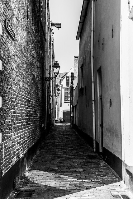 ©RGS-My view on Broad alley Zwolle.