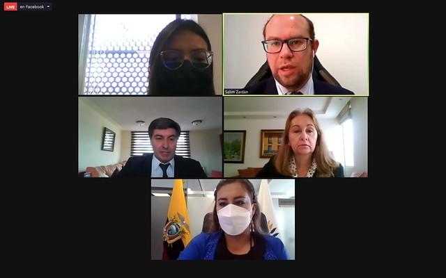 COMISIÓN DE RELACIONES INTERNACIONALES. (VIRTUAL). ECUADOR, 26 DE JULIO DEL 2021