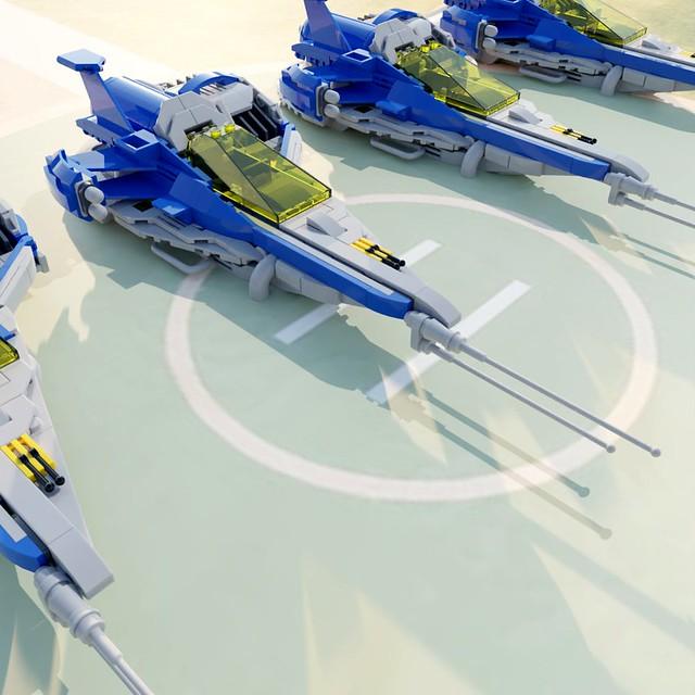 Lego Neo Classic Space Gen3 Reconnaissance Craft