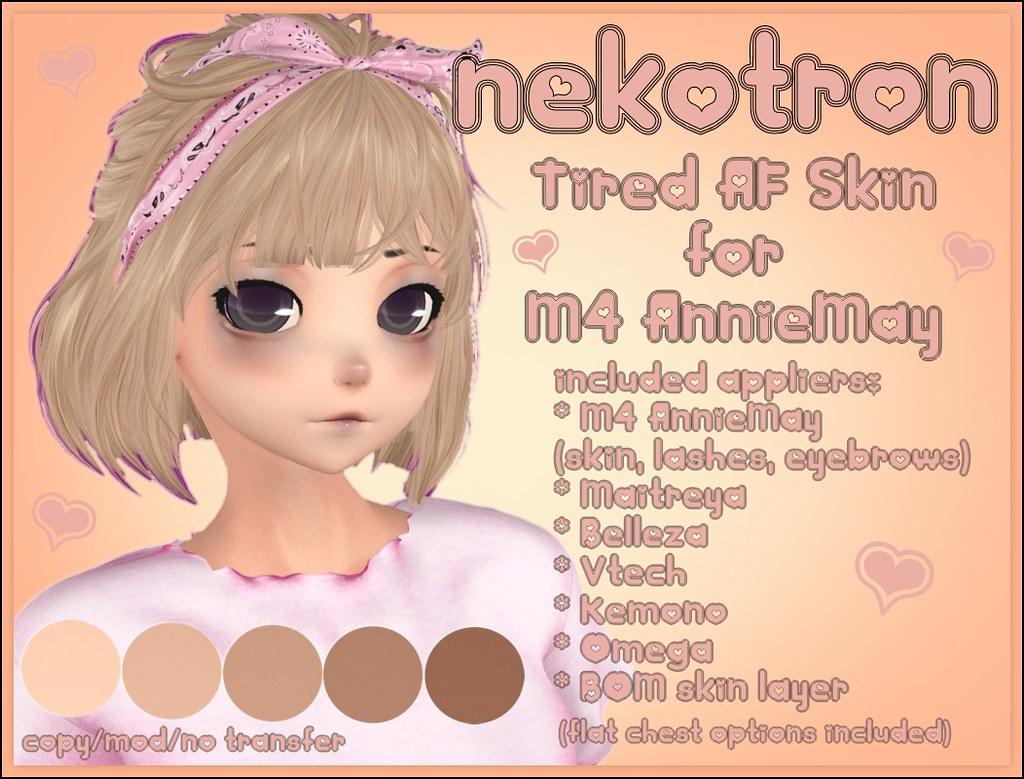 [Nekotron] Tired AF Skin M4 AnnieMay (+ various bodies)