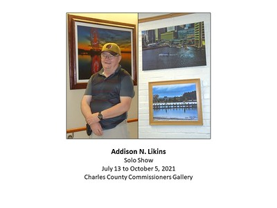 Addison Likins @ Commissioners' Gallery, July - October 2021