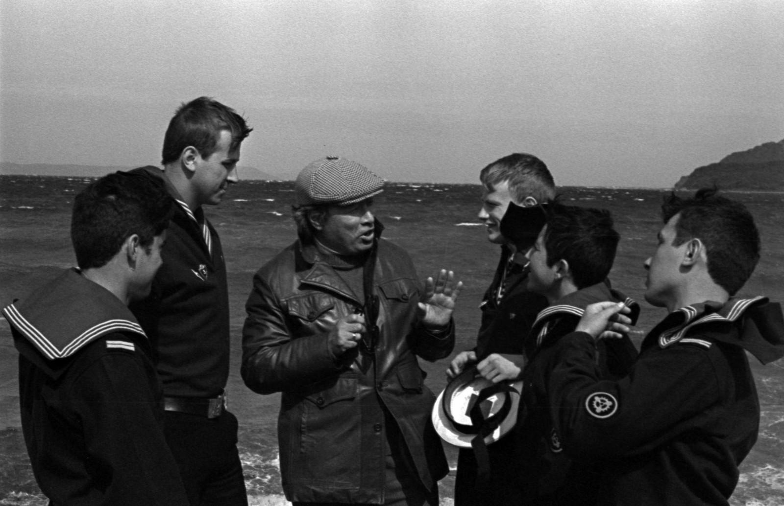1980. Юрий Сергеевич Рытхэу на острове Русский
