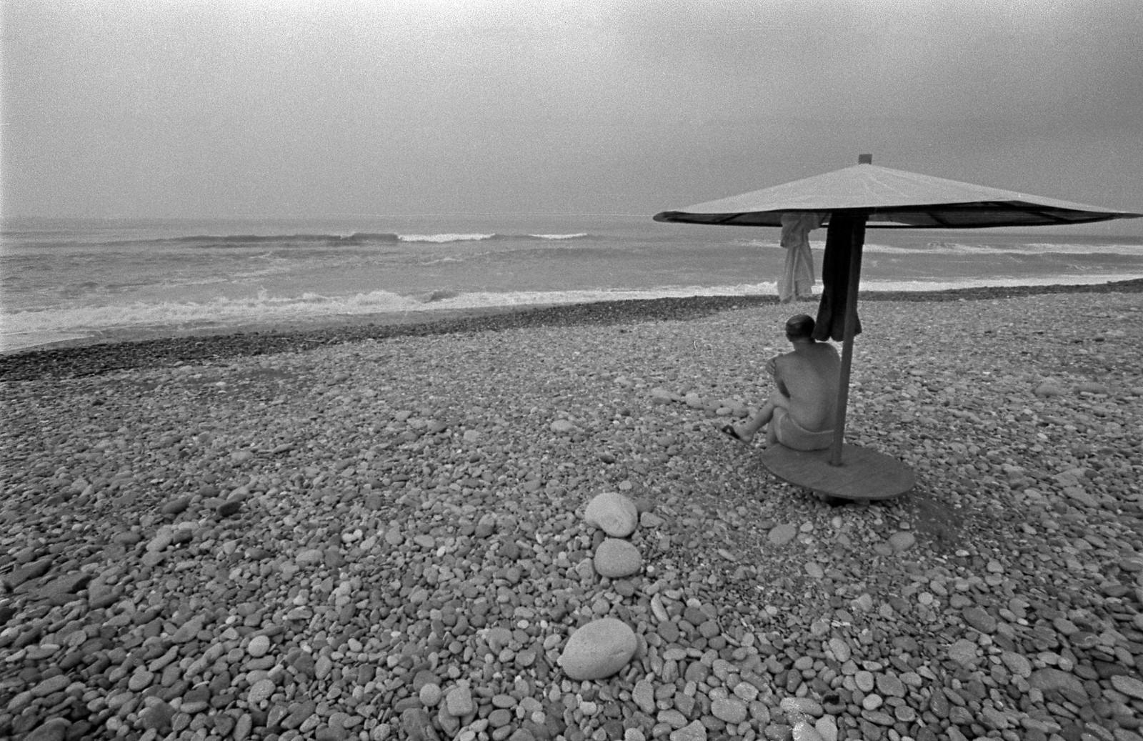 1980. Гулрипши, сентябрь, «человек и море»