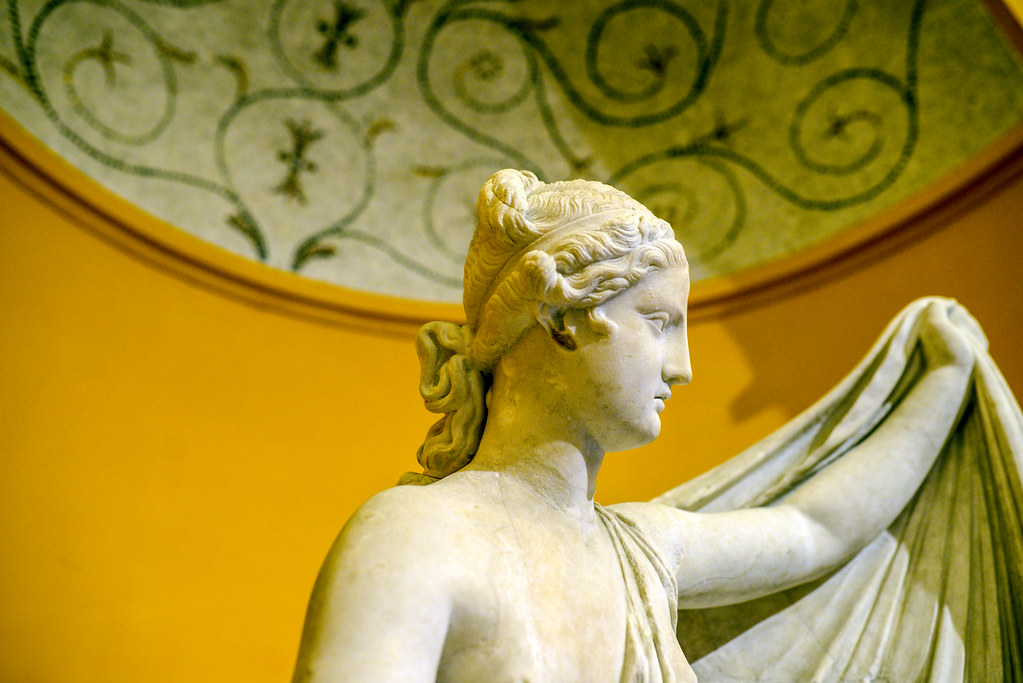 Getty Villa statue