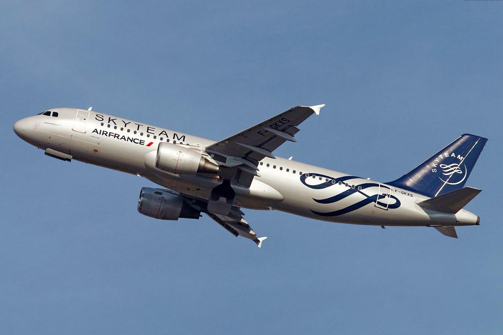 F-GKXS   Air France   Airbus A320-214   Paris Orly  [ORY / LFPO]