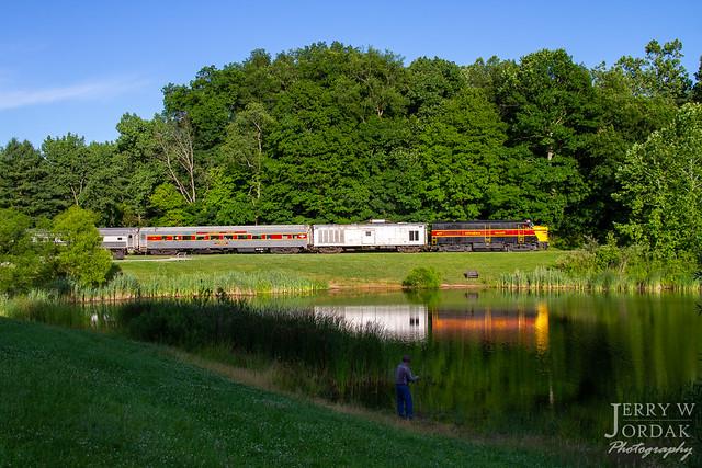 Train Time at Indigo Lake