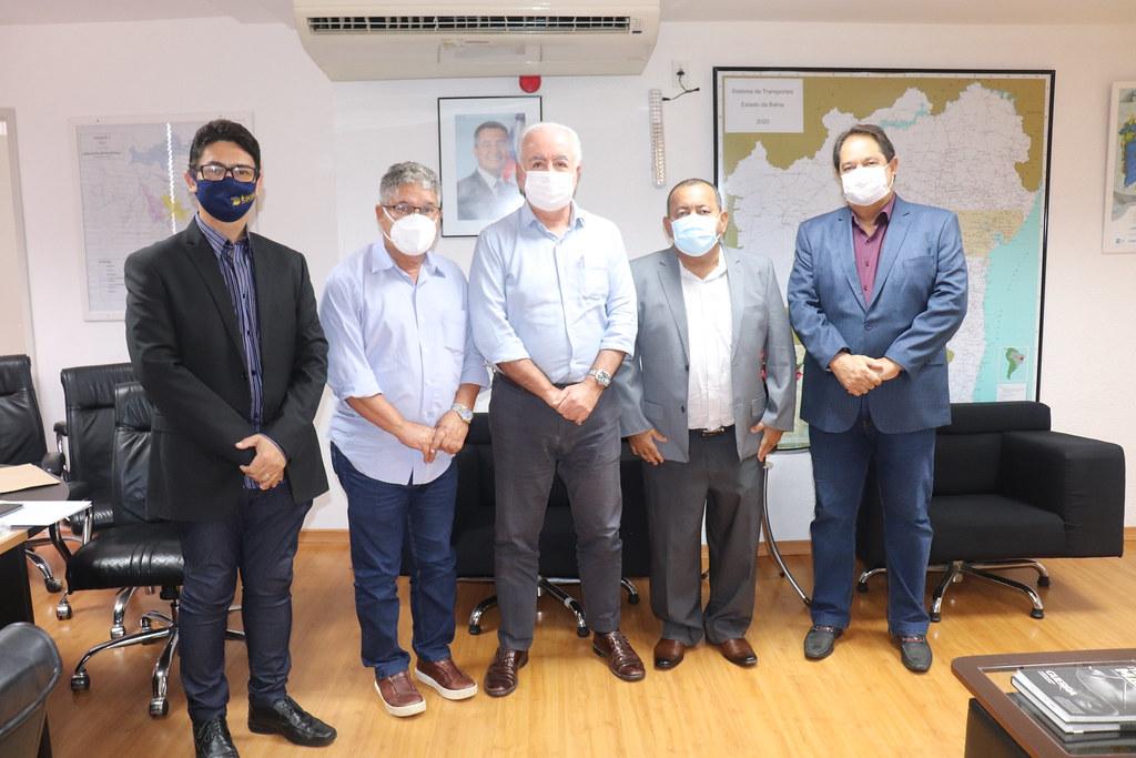 19.07.2021: Agenda nas secretarias dos estado com Itacaré e Itororó
