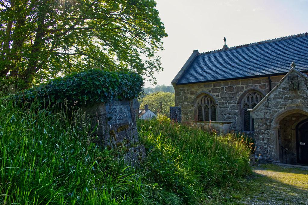 Alford chest tomb, St. Wenappa Church, Gwennap