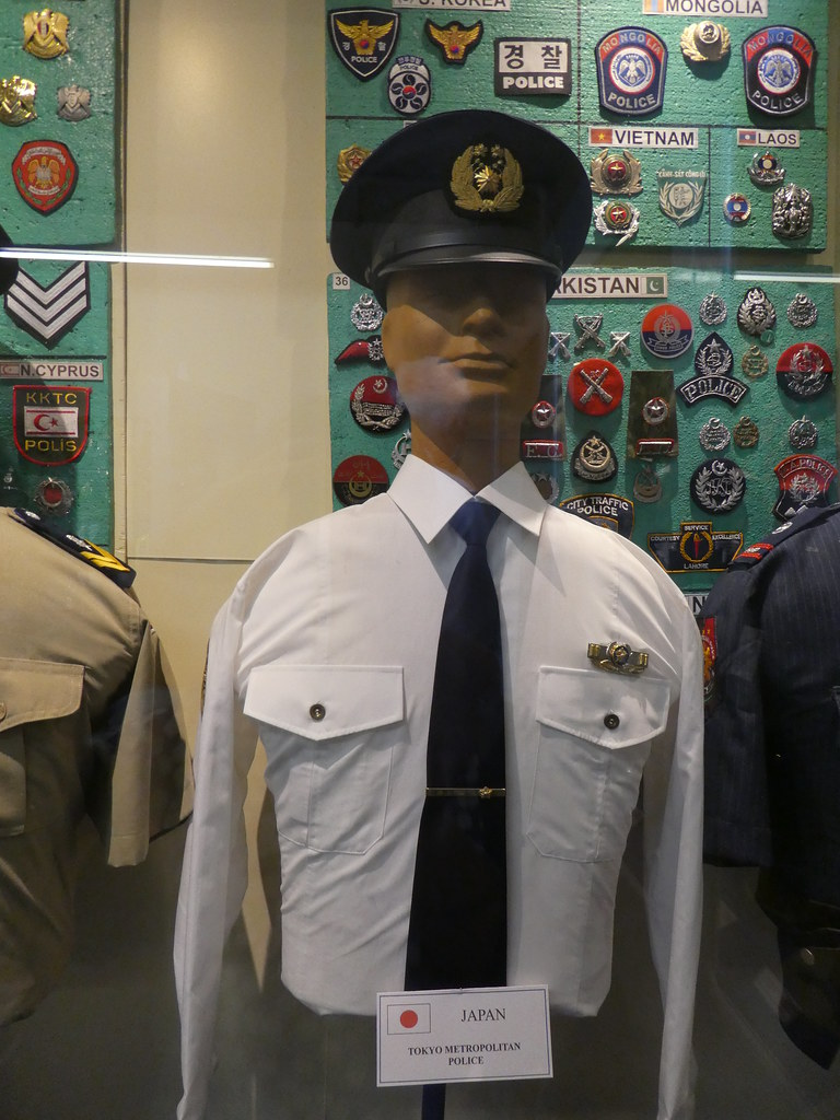 Exhibits in the Glasgow Police Museum
