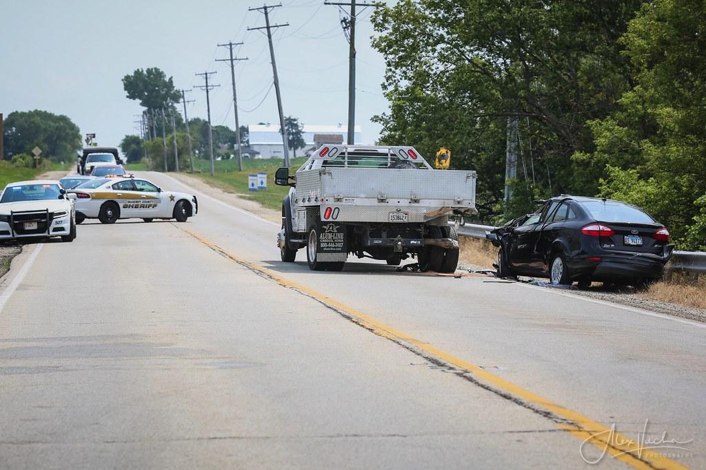 Huntley Serious Crash - 7/24/21