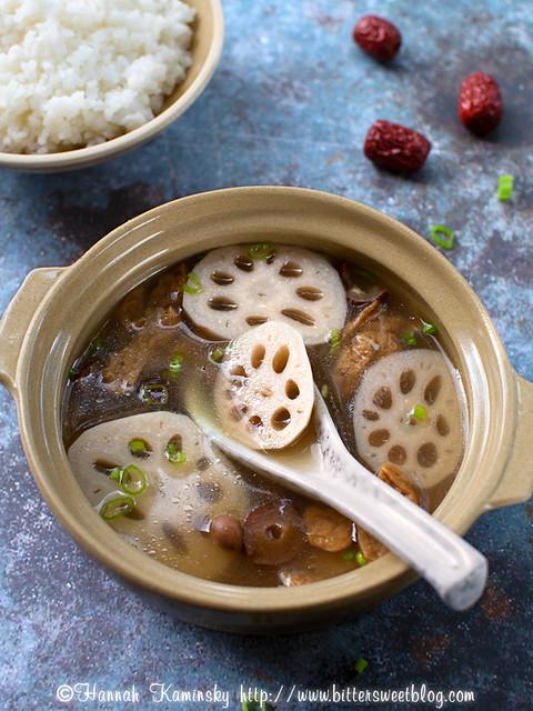 Lotus Root Soup 2