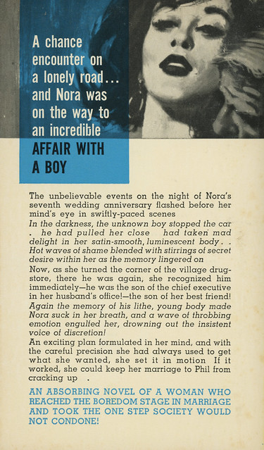 Beacon Books B645F - Jim Layne - Her Young Lover (back)