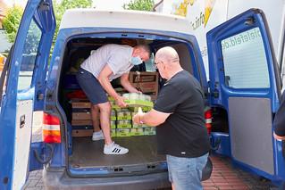 Spendenaktion Hochwasserkatastrophe FFW Jöllenbeck