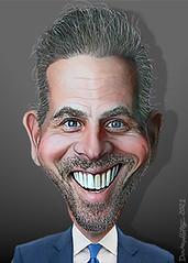 Hunter Biden - Caricature