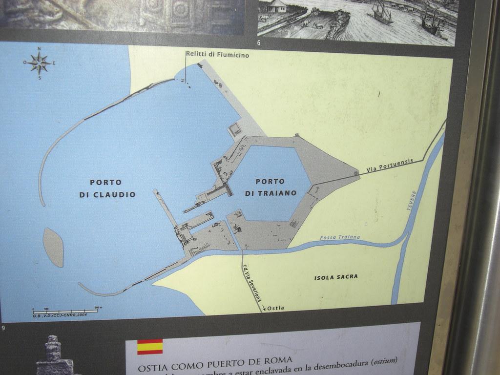 Map of Portus