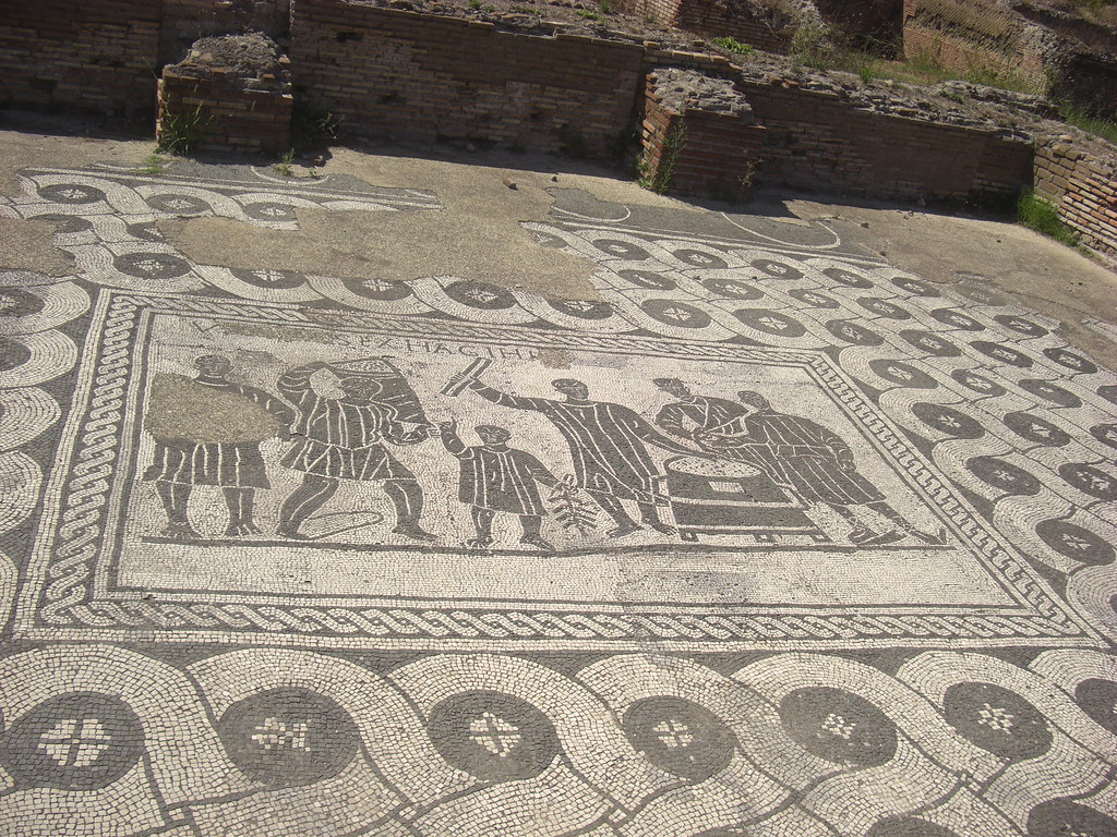 Mosaic Floor from Hall of the Grain Measurers