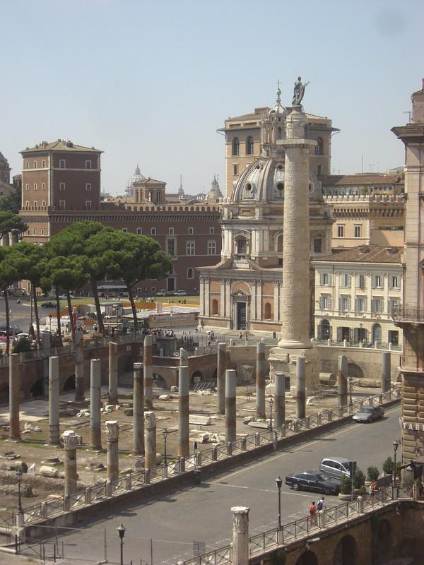 Basilica Ulpia and Trajan
