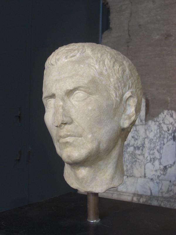 Head of M. Aemilius Lepidus (Triumvir)