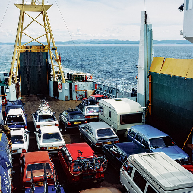 The Ferry for Islay - thirty years ago.