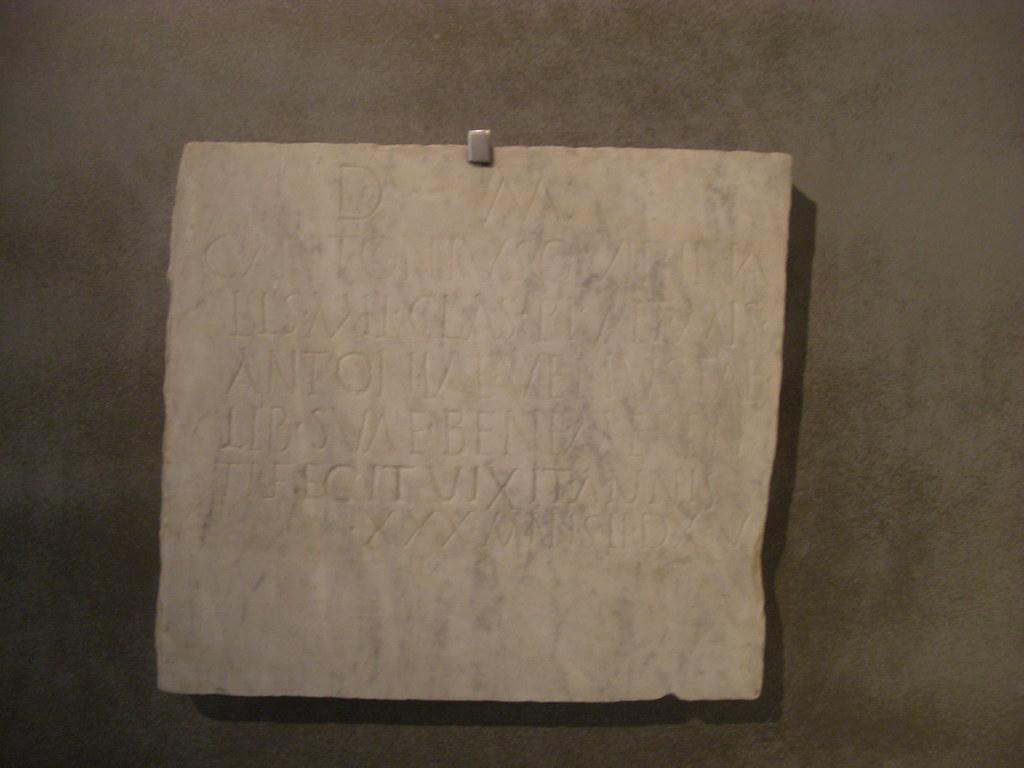 Epitaph of Antonia Venusta