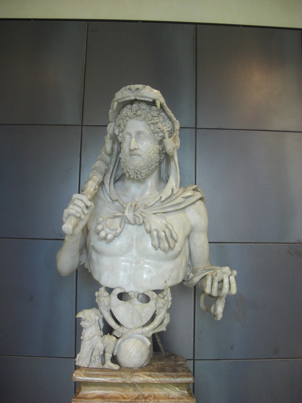 Bust of Commodus