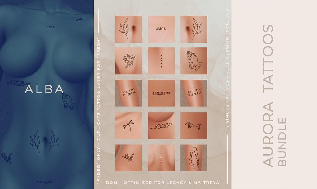 ALBA – Aurora Tattoos Bundle @ The Grand