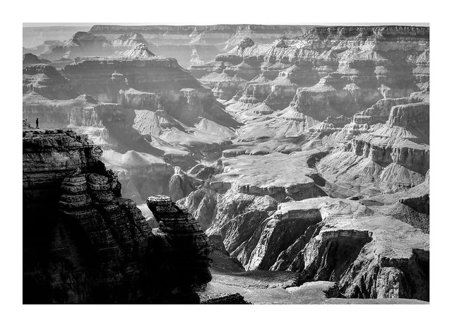A speck in the universe (Grand Canyon)