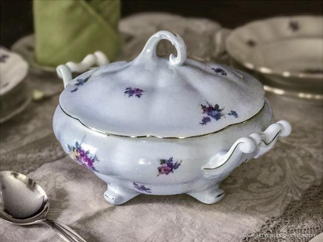 Antique fine china
