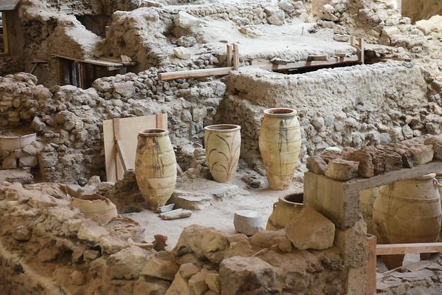 Akrotiri (prehistoric city), Santorini, Greece, June 2021 960