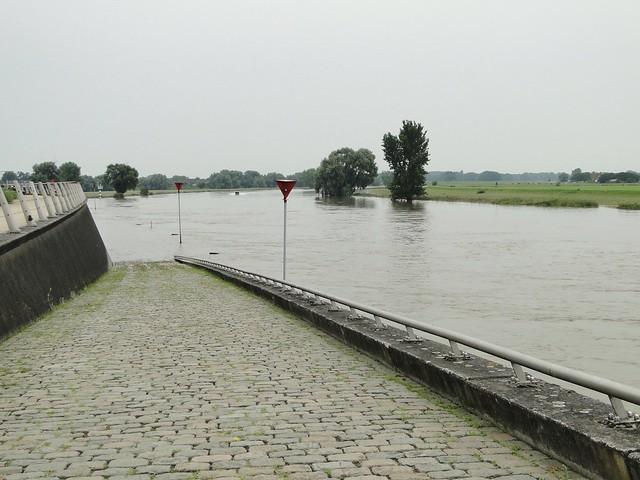 IJssel river bank in Doesburg