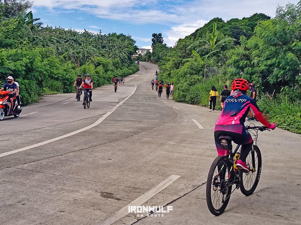 The 2nd uphill at Davilan Ahon