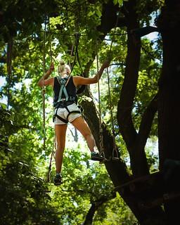 """Wenn """"in den Seilen hängen"""" richtig Spaß macht!"""