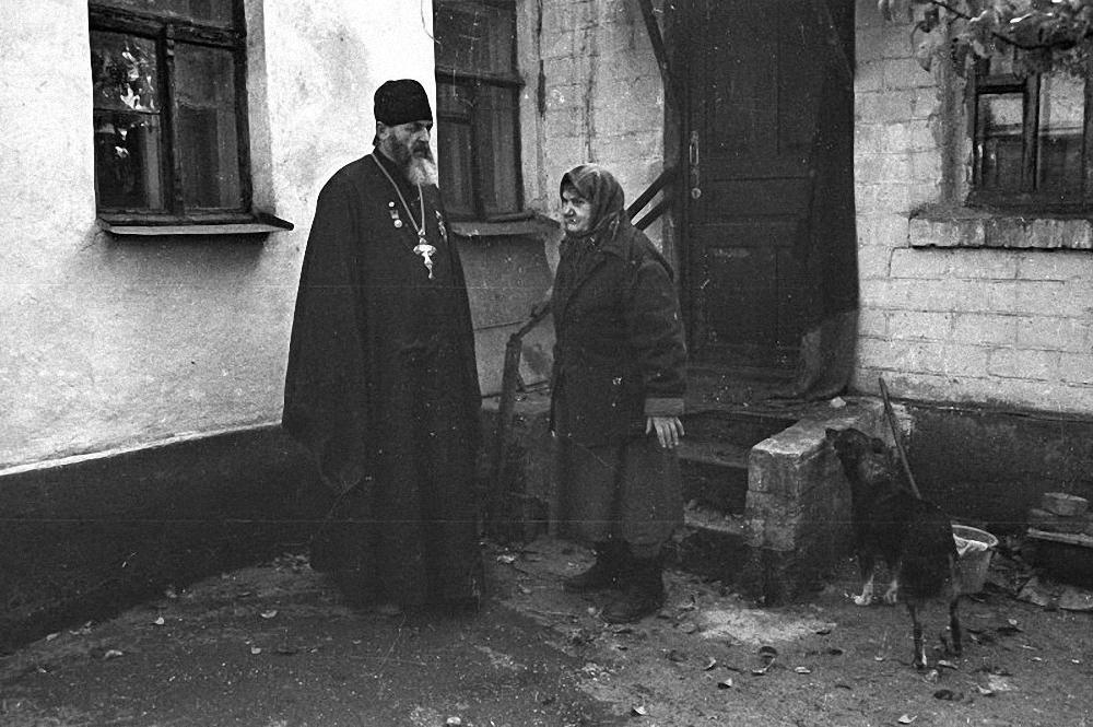 1990. «Бог терпел и нам велел». Луганск
