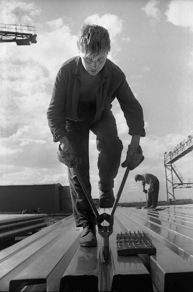 1975. Рабочий КАМАЗа. Набережные Челны
