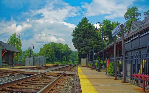 trainstation clouds landscape olympus