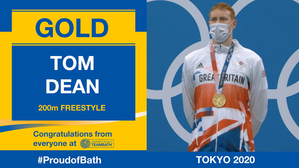 Tom Dean won 200m freestyle Olympic gold at Tokyo 2020