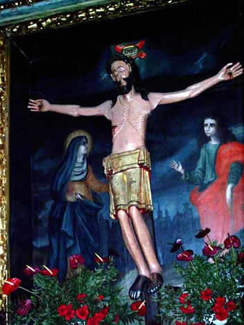 Advocación Cristo de las Aguas - Allo