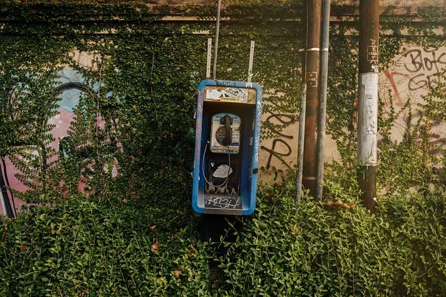 Old street phone Indonesia