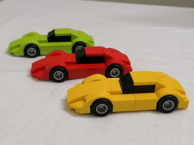 Sports Cars of 70's MOC.