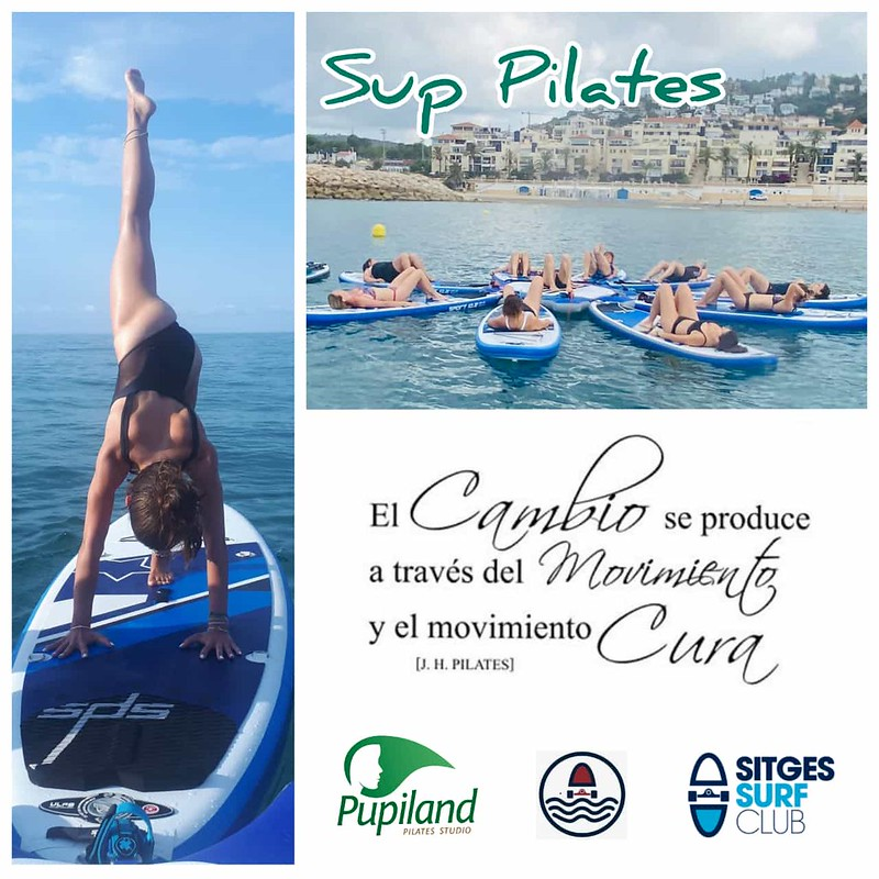 Sup Pilates con Sitges Surf Club