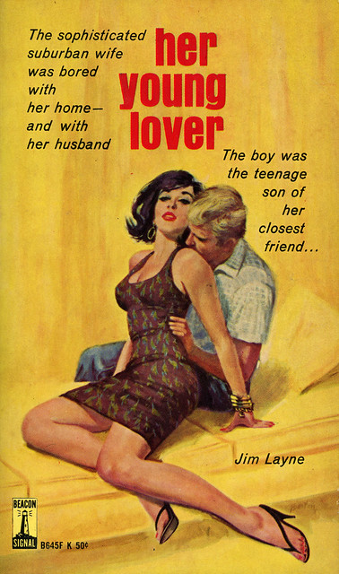 Beacon Books B645F - Jim Layne - Her Young Lover