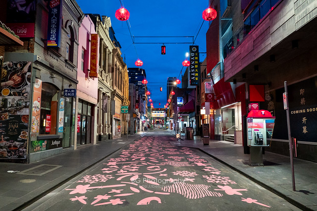 Melbourne China Town.